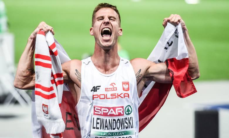 Marcin Lewandowski (CWZS Zawisza) po niesamowitym finiszu zdobył lekkoatletyczne wicemistrzostwo Europy na 1500 m w Berlinie, a nie na swoim ulubionym