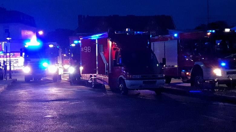 Wybuch gazu w Kędzierzynie-Koźlu. 80 strażaków w akcji. Trwa akcja ratownicza