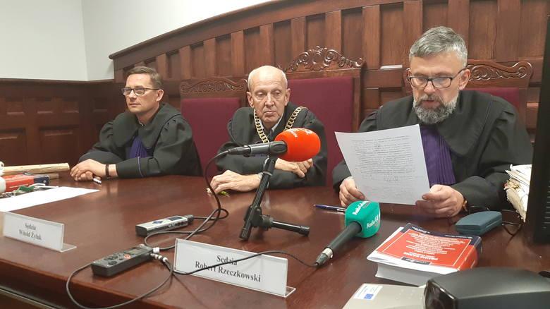 Ogłoszenie wyroku w Sądzie Okręgowym w Słupsku. Sąd uznał, że w tej sprawie doszło do przedkładania kwestii ekonomicznych nad zasady bezpieczeństwa