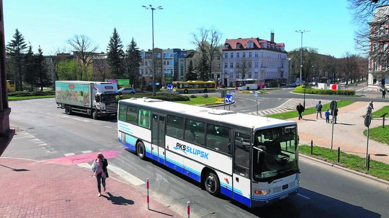 Powiat słupski swój program komunikacyjny zamierza realizować wspólnie z lokalnymi  operatorami autobusowymi - spółkami PKS Słupsk i Nord Express.