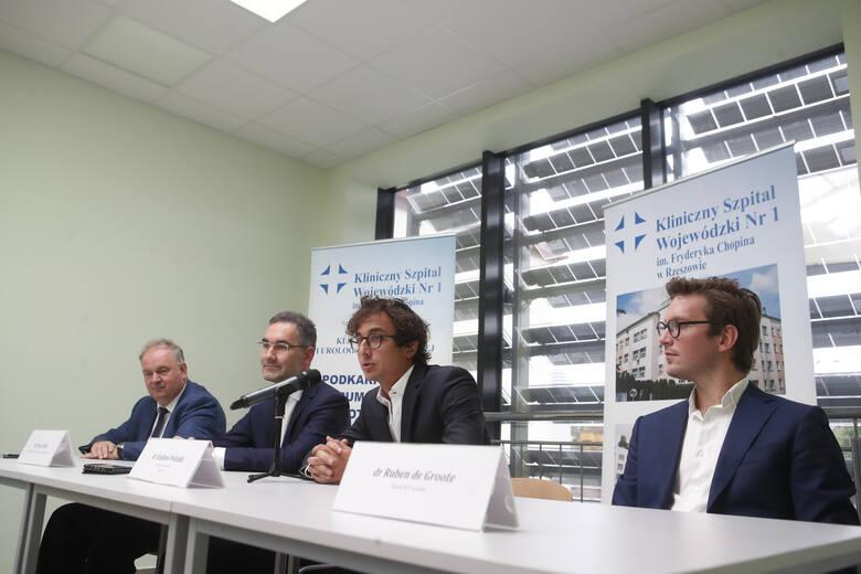 W Klinicznym Szpitalu Wojewódzkim nr 1 w Rzeszowie wykonano jednego dnia 6 operacji z wykorzystaniem robota da Vinci.