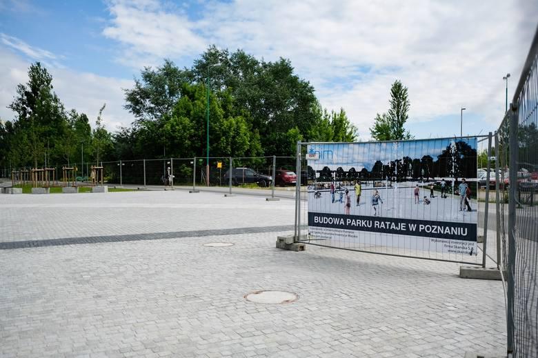 Park Rataje staje się jedną z rekreacyjnych wizytówek Nowego Miasta
