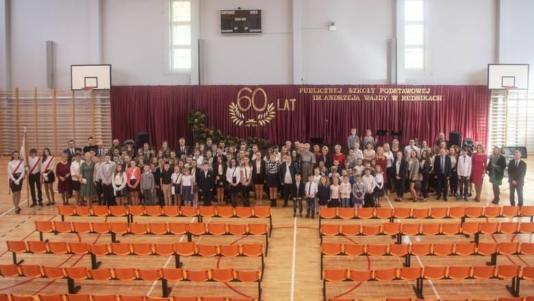 Jubileusz 60-lecia szkoły podstawowej w Rudnikach.