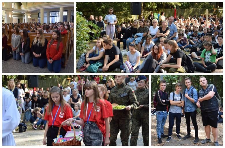 Ponad 1500 młodych wraz z opiekunami przyjechało 12 września 2019 r. do Serpelic, aby uczestniczyć w Diecezjalnym Spotkaniu Młodzieży Diecezji Drohi
