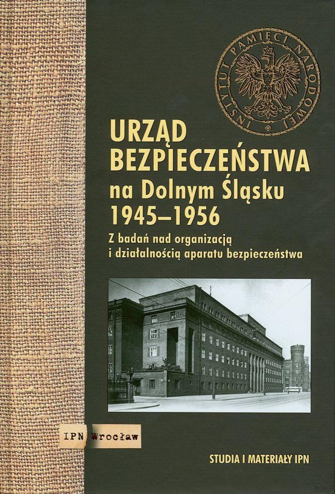 Okładka ksiązki UB na Dolnym Śląsku