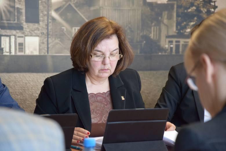 Sesja rady powiatu nowosolskiego, 22 lutego 2019 r.<br /> Zenobia Danuta Kubicka
