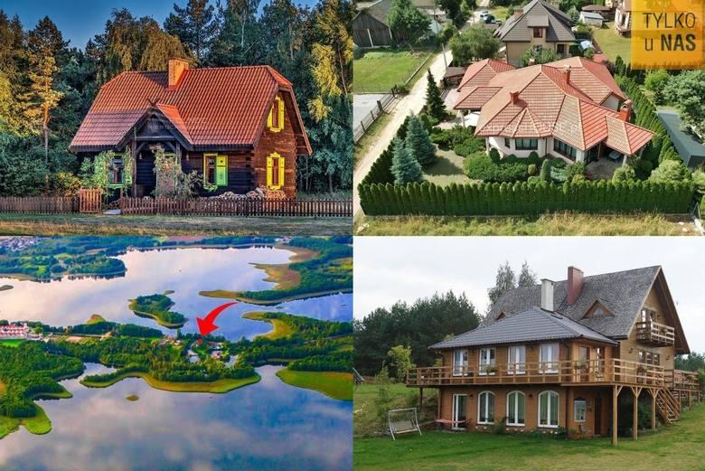 Wybraliśmy 18 najciekawszych nieruchomości. Łączy je fakt, iż nie znajdują się one na terenie miast, lecz wsi. A wam który dom podoba się najbardzie