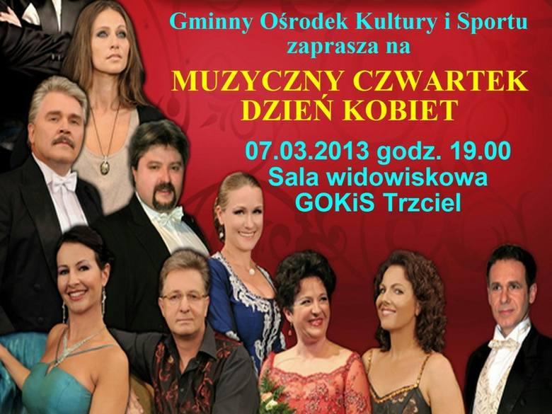 Dziś po południu w sali widowiskowej w Trzcielu odbędzie się koncert poznańskich artystów.