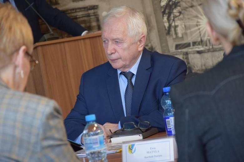 Sesja rady powiatu nowosolskiego, 22 lutego 2019 r.<br /> Zygmunt Muszyński