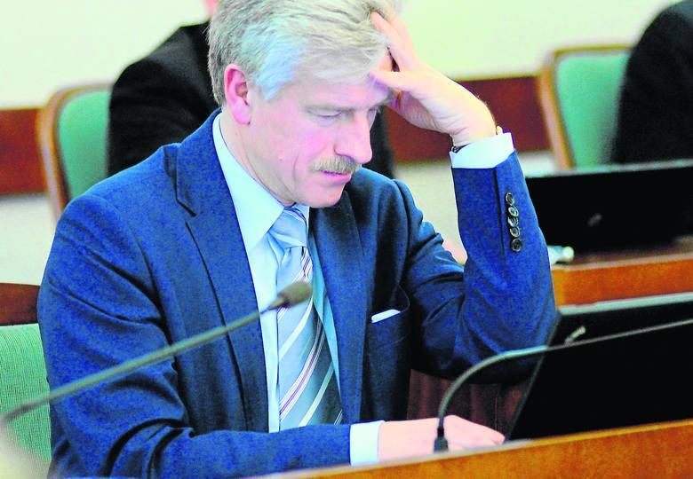 Ryszard Grobelny na karcie ma limit 25 tys. zł
