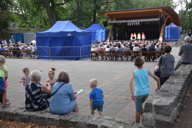 Stargard. Koncert Altos w teatrze letnim w parku Chrobrego