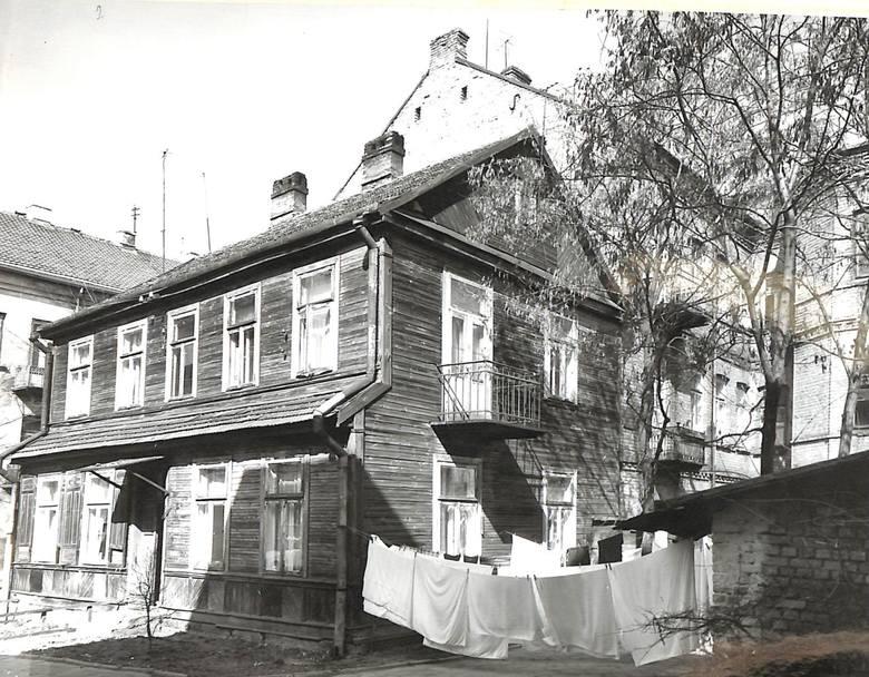 Tak wyglądał dom przy ul. Zamenhofa 20.