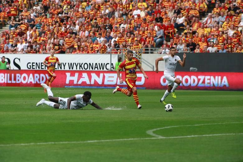 Jagiellonia - Rio Ave 1:0Jagiellonia wygrała w II rundzie kwalifikacji z portugalskim Rio Ave 1:0.  Gola tuż przed przerwą strzelił Mateusz Machaj.