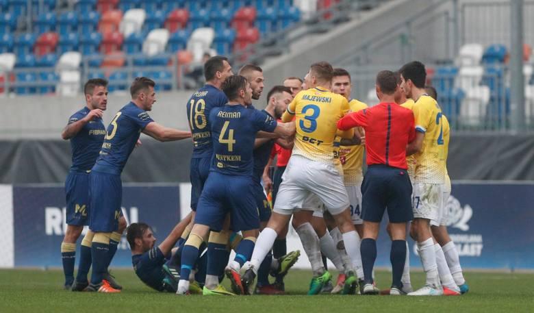 W rundzie jesiennej mecz Stal Rzeszów - Motor Lublin zakończył się wynikiem 2:2. Przypomnijcie sobie jak to spotkanie wyglądało na zdjęciach.ZOBACZ TAKŻE