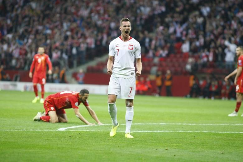 Arkadiusz Milik trafił na 2:0 i przypieczętował nasz awans na Euro 2020