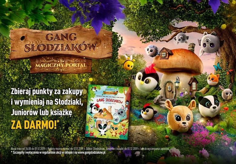 """Bardzo popularna akcja promocyjna tym razem nosi nazwę """"Gang Słodziaków - Magiczny Portal""""."""
