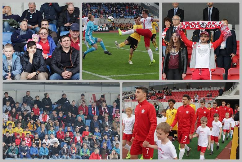 Mecz piłki nożnej U-17 Polska-Belgia na stadionie OSiR we Włocławku. Polska - Belgia 2:2 (0:1)Bramki: Ariel Mosór (61), Bartosz Matuła (84) - Engwanda