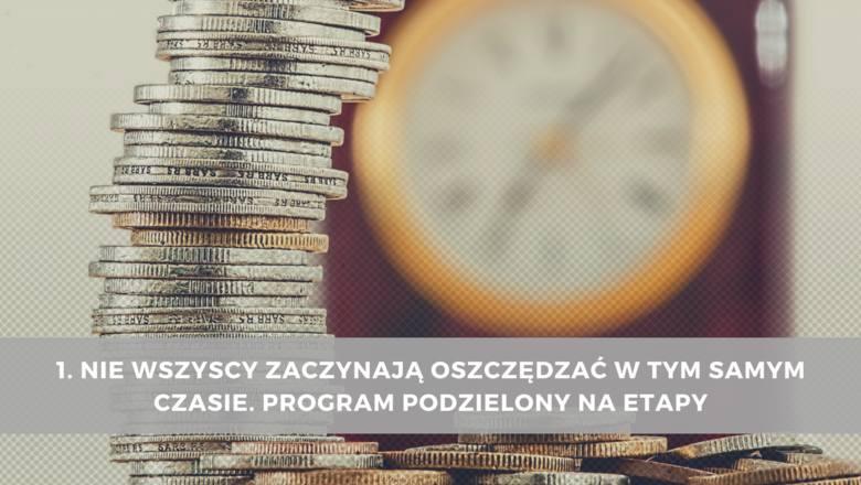 1. Nie wszyscy zaczynają oszczędzać w tym samym czasie. Program podzielony na etapyUstawa o Pracowniczych Planach Kapitałowych wejdzie w życie 1 stycznia