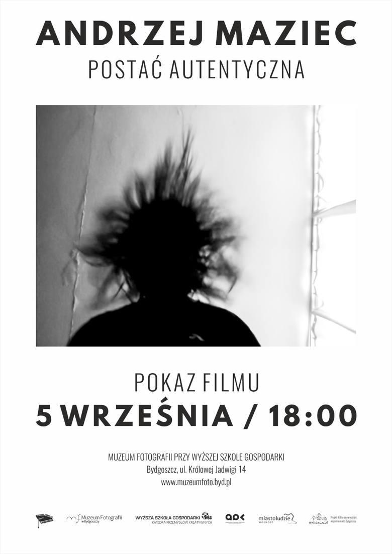 Andrzej Maziec. Postać autentyczna - premierowy pokaz w Muzeum Fotografii WSG w Bydgoszczy