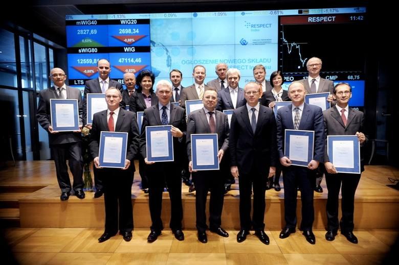 Barlinek ponownie jest jedną z 16 odpowiedzialnie społecznie spółek wegług Giełdy Papierów Wartościowych.