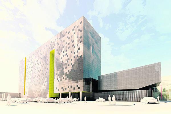 Tak hotel przy ul. Łąkowej będzie prezentował się już po zakończeniu prac.