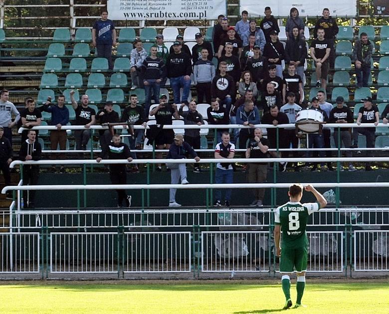 Najwyższe zwycięstwo odnieśli piłkarze Wisłoki Dębica, którzy pokonali Przełom Besko 5:0