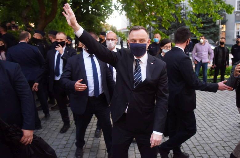 Wizyta prezydenta Andrzeja Dudy w Zielonej Górze