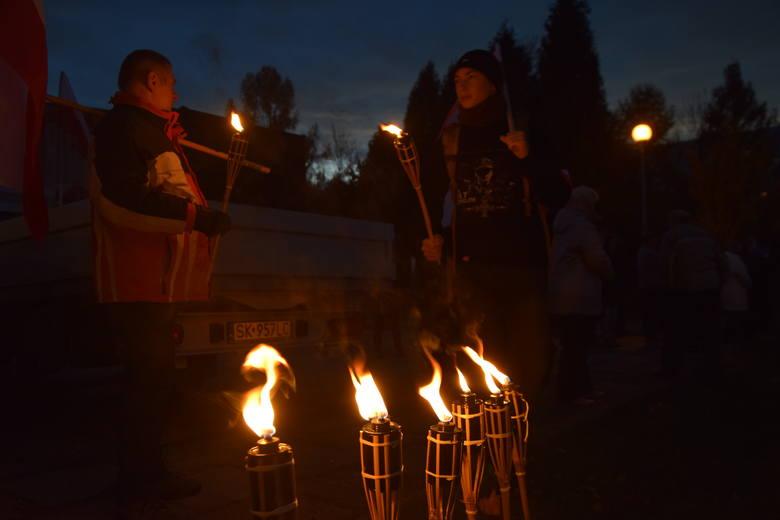 Marsz Niepodległości przeszedł ulicami Jastrzębia-Zdroju