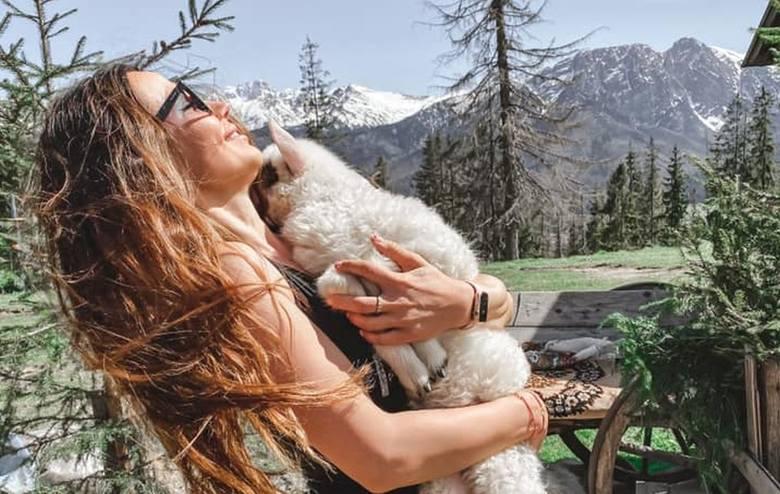 Diana Walkiewicz, znana projektantka mody z Radomia, właścicielka marki DeVu w wolnej chwili często wybiera się na górskie wyprawy. Ostatnie dni spędziła