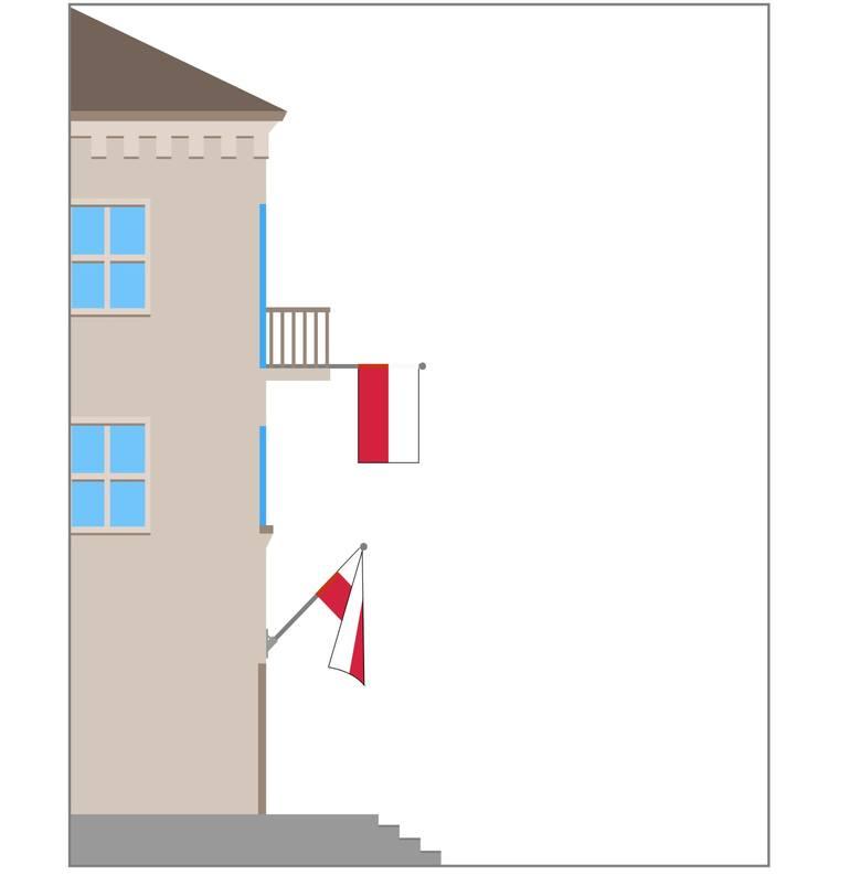 Od 2004 r. 2 maja obchodzimy Święto Flagi. Każdy obywatel Rzeczypospolitej Polskiej ma prawo wywiesić flagę państwową na swoim domu, a także w oknie