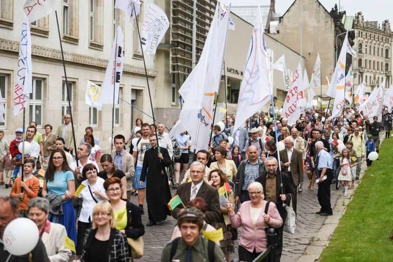 Marsz dla Życia przeszedł ulicami Poznania