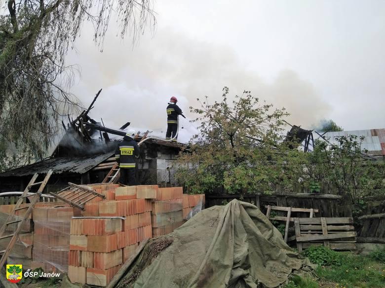 We wtorek, około godz. 9, w miejscowości Miejskie Nowiny w gminie Sokółka doszło do pożaru owczarni.