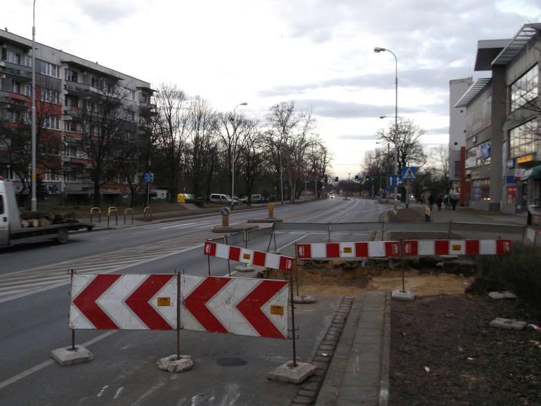 Wrocław: Popowicka rozkopana. Uwaga na utrudnienia w ruchu