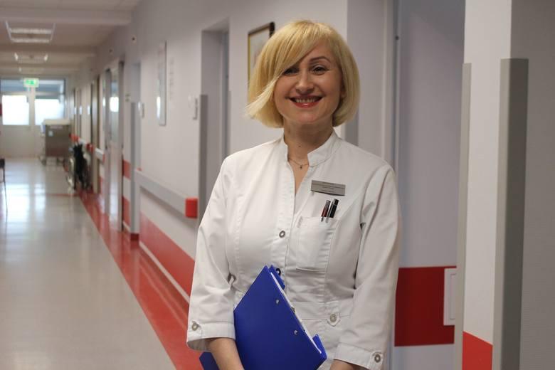Bożena Uberna to psycholog, psychoonkolog, psychoterapeuta poznawczo-bechawioralny. Pracuje w nowosolskim szpitalu. <br />