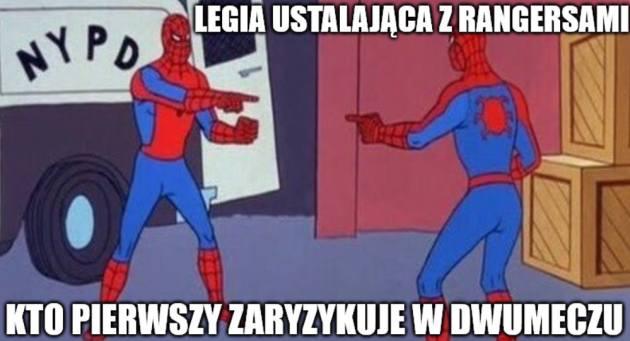 Memy po meczu Legia - Rangers