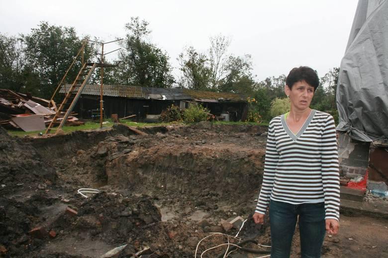 Nawałnica zabrała im dom. Dziewięć tysięcy to za mało