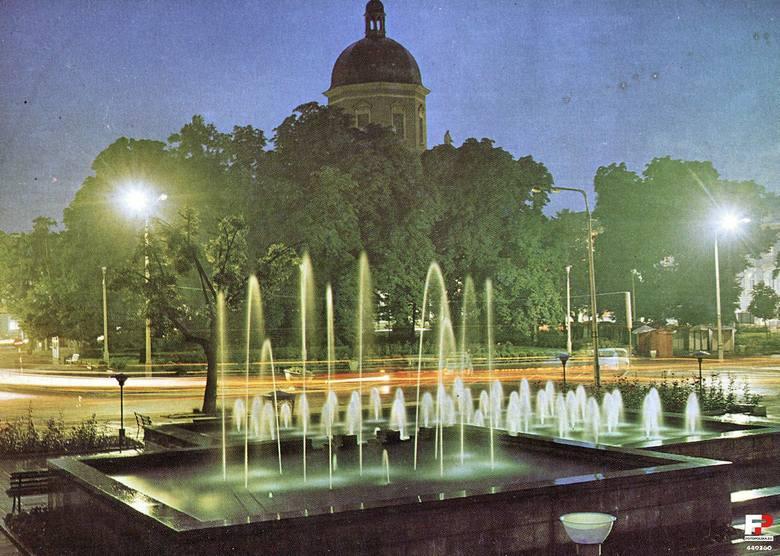 Radomskie fontanny na starych fotografiach. Jak kiedyś wyglądały? Zobacz archiwalne zdjęcia!