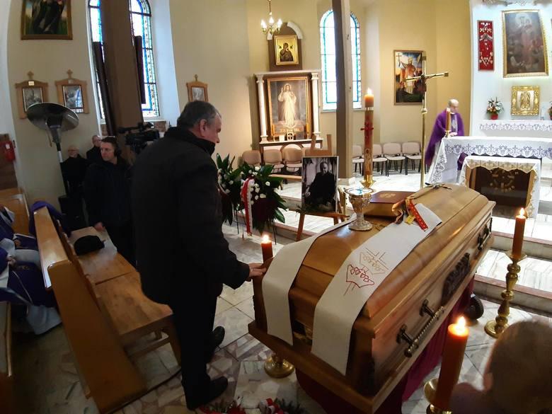 Pogrzeb księdza Wojciecha Wójtowicza w Miastku