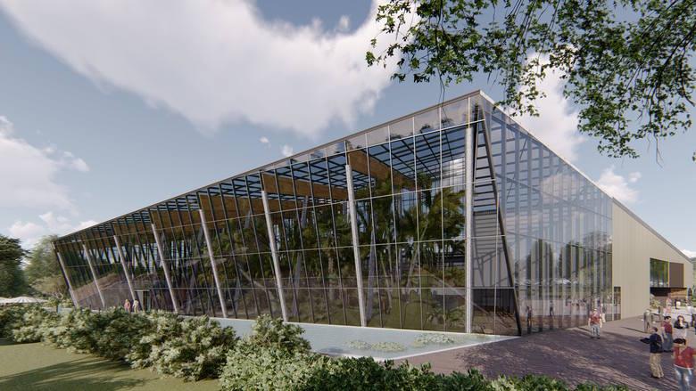 Tak będzie wyglądało Centrum Edukacji Ekologicznej, które zastąpi przestarzałe Egzotarium w Sosnowcu.