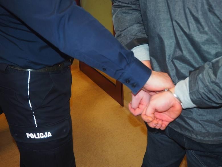 aresztowanie kajdanki