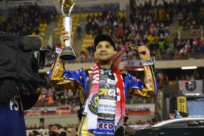 Bartosz Zmarzlik, żużlowiec Stali Gorzów został indywidualnym mistrzem świata.