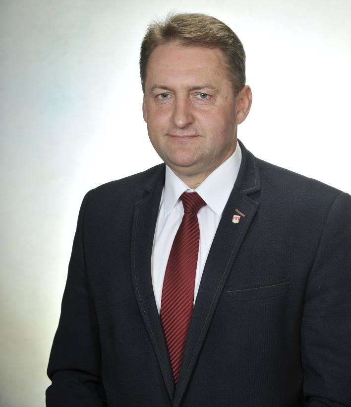 Burmistrz Dariusz Skiba