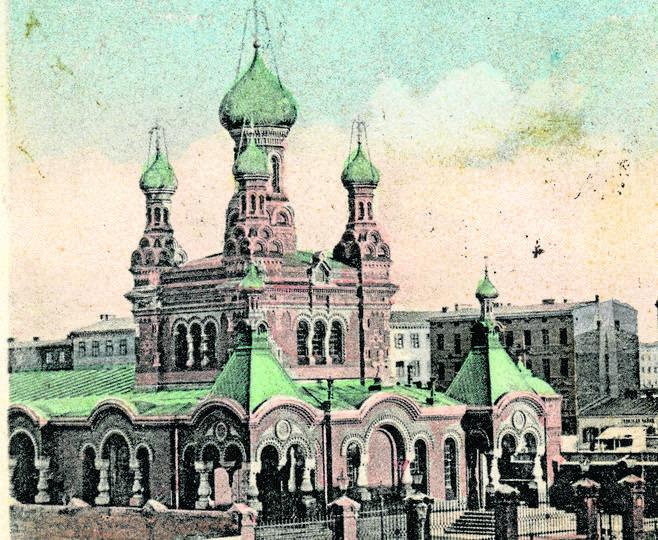 Cerkiew p.w św. Aleksandra Newskiego stoi koło Dworca Fabrycznego i jest jedną z najpiękniejszych łódzkich świątyń