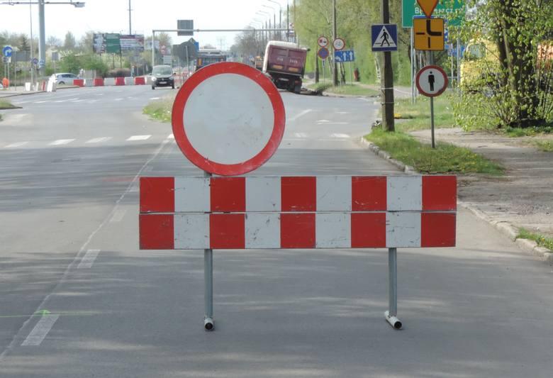 Rozpoczęła się budowa ronda. Kierowcy mieli problemy na ul. Staszica