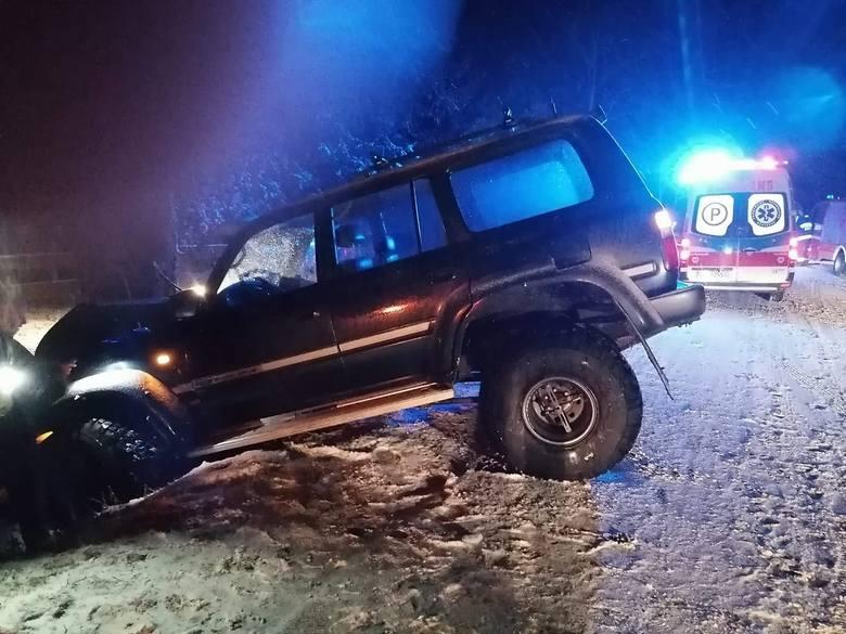 Wypadek na trasie Brańsk-Kadłubówka