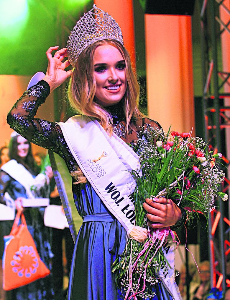 Maturzystka z Łodzi z koroną Miss. Teraz marzy o studiach prawniczych