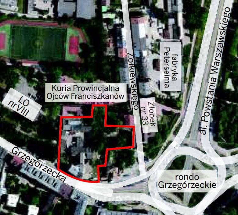 Na terenie przy ul. Grzegórzeckiej mają stanąć bloki. Inwestycja jest kontrowersyjna również dlatego, że zwiększy ruch w okolicy