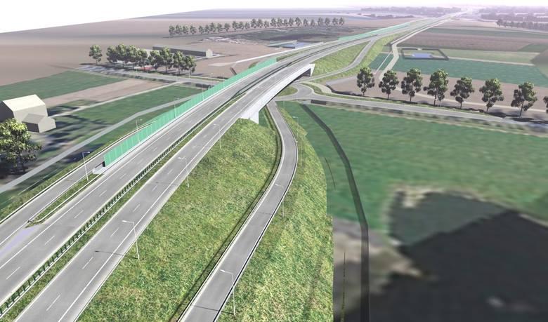 W ramach zadania przewidziano budowę Obwodu Utrzymania Drogi przy węźle Nowogard Wschód i pary Miejsc Obsługi Podróżnych Wyszogóra.