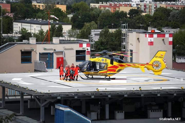 Poważny wypadek w firmie w Stalowej Woli. 46-latek wpadł nogą do bardzo gorącej wody! Z oparzeniami trafił do specjalistycznego szpitala