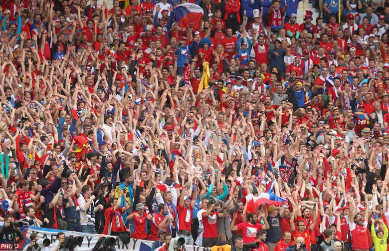 Mecz Hiszpania - Czechy w obiektywie